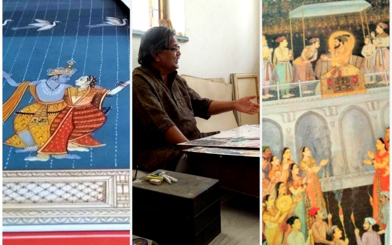 The Passion of Ingenuous Brushstrokes- Artist Ghanshyam Nimbark