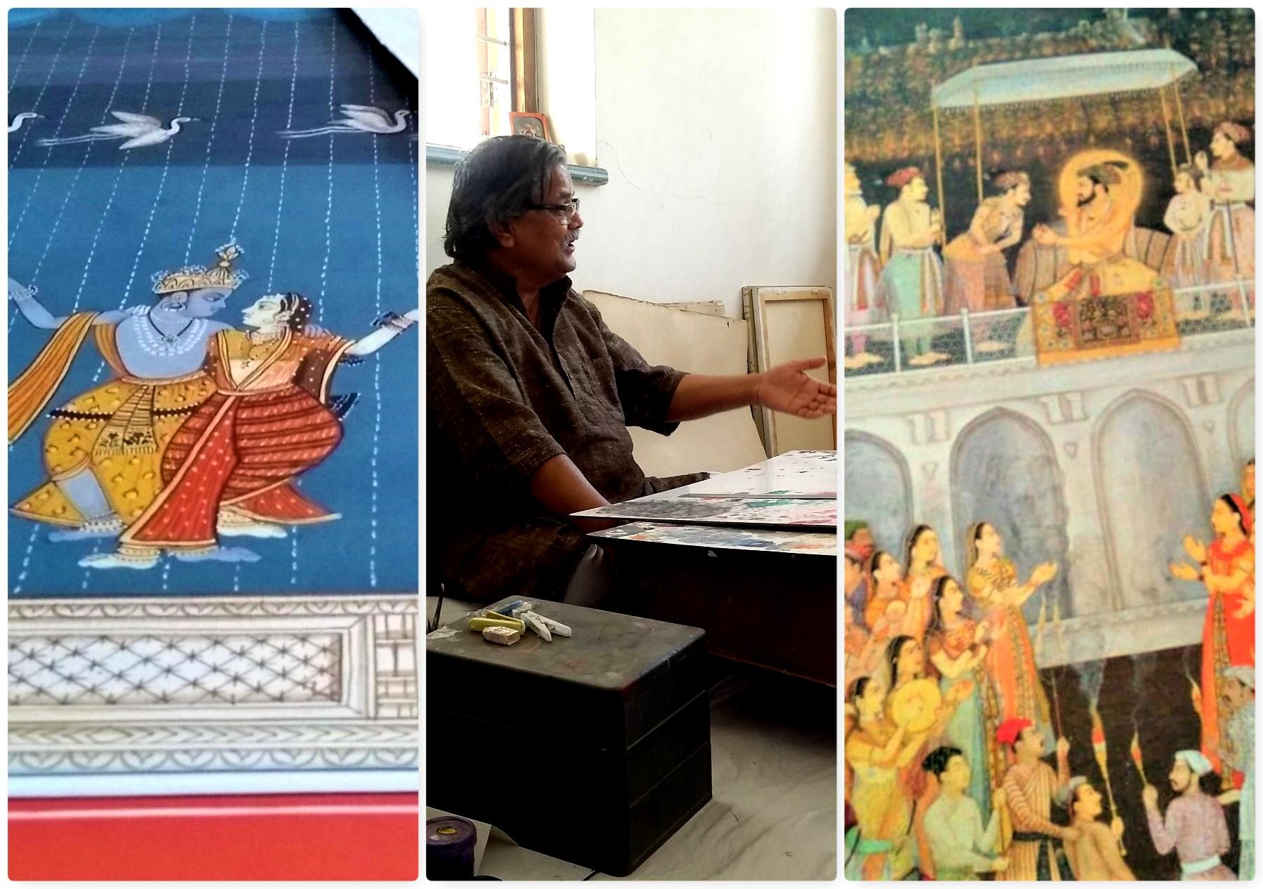 The Passion of Ingenuous Brushstrokes- Artist Ghanshyam Nimbark